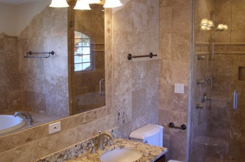i_Stunning Master Bath with seperate shower with jet body sprays